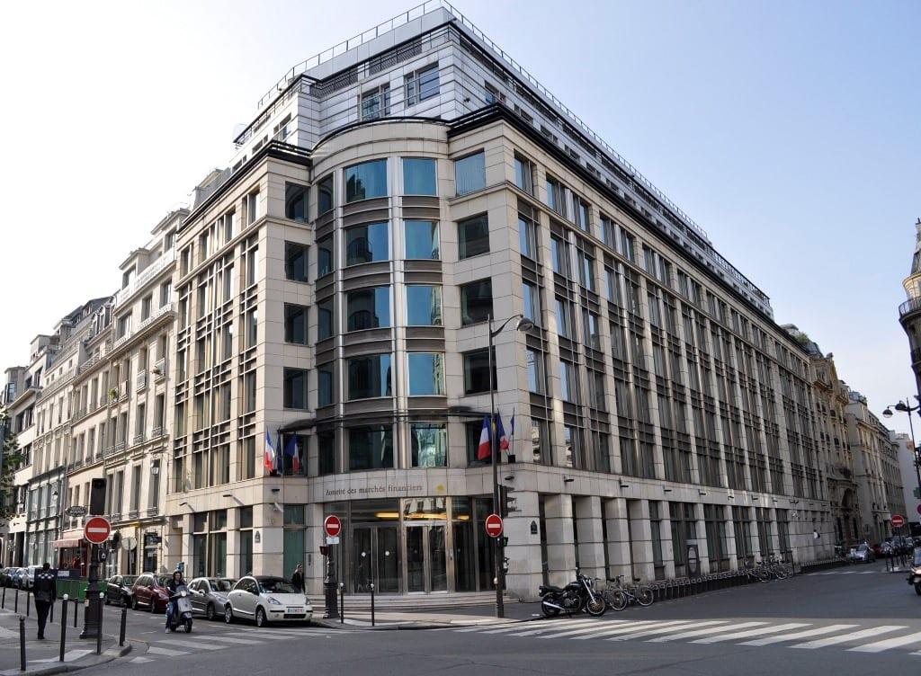 Bâtiment de l'Autorité des Marchés Financiers (AMF)