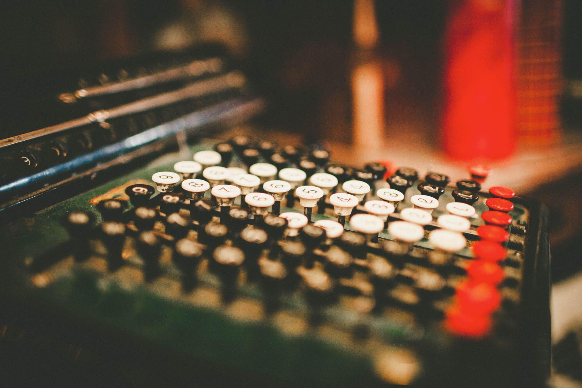 Ancienne calculatrice