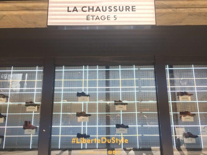 Caulaincourt Printemps vitrine