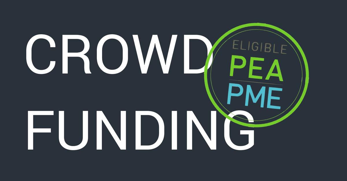 CROWDFUNDING, loi PACTE, pea-pme-éligible
