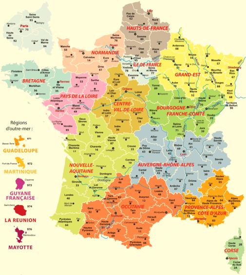 regions mesure covid19, régions par régions covid19, coronavirus régions,