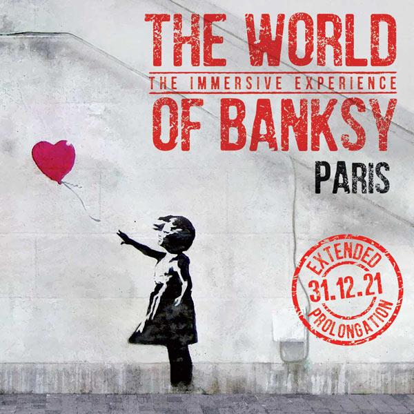 """La sélection WeShareBonds - """"The World of Banksy : The Immersive Experience"""" à l'espace Lafayette-Drouot"""