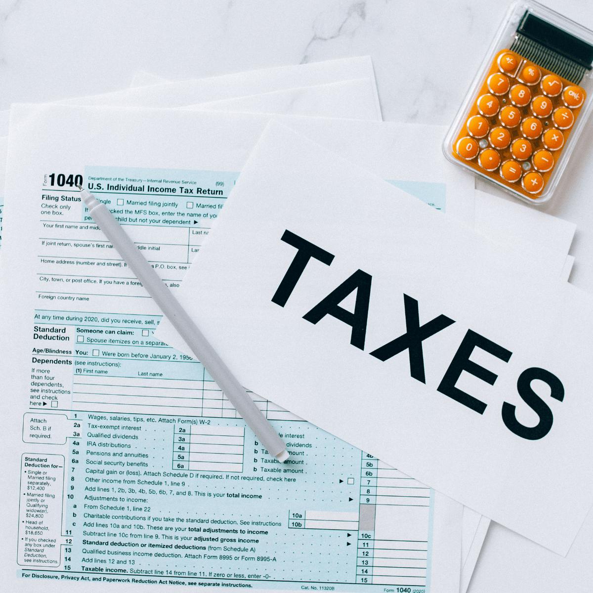 l'impôt sur les revenus de SCPI